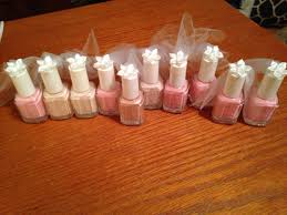 bridal shower gifts for guests bridal shower veil nail favors that i made bridal