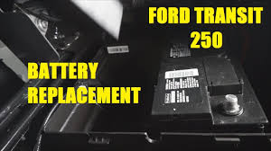 ford transit 250 battery replacement the battery shop youtube