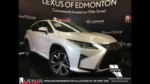 lexus rx 350 interior 2017 2017 white on parchment lexus rx 350 awd luxury review downtown