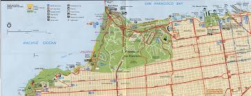 Southern United States Map by Park Map Of Golden Gate National Recreation Area North