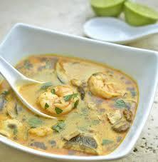recettes cuisine thermomix soupe thaï au lait de coco et aux crevettes avec thermomix voici