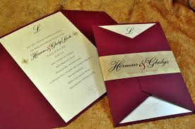 couture wedding and anniversary invitations with pockets and other