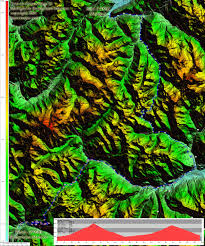 Tour De France Route Map by Topocreator Create And Print Your Own Color Shaded Relief