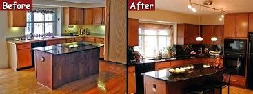 U Home Interior U Shaped Kitchen Remodel Before And After U2013 Iner Co