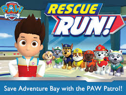 paw patrol rescue run hd app store