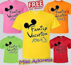 25 unique family vacation shirts ideas on disney