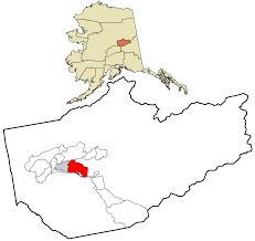 Map Of Alaska Cities Badger Alaska Wikipedia