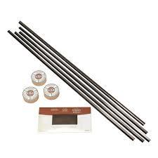 Brushed Nickel Backsplash by Fasade Backsplash Accessory Kit With Tape In Brushed Nickel 950 29