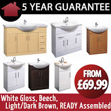 Ready Made Bathroom Cabinets by Ready Assembled White Bathroom Cabinets Cabinets Pre Made Benevola