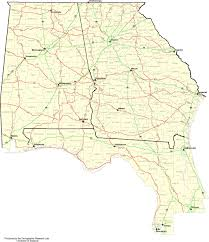 Land O Lakes Florida Map by Map Of Georgia And Florida My Blog