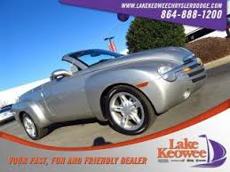 classic ls shelby nc chevrolet ssr for sale in shelby nc