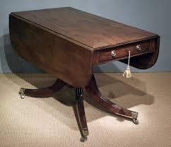 Drop Leaf Pedestal Table Antique Drop Leaf Pedestal Pembroke Table Pembroke Table Sofa