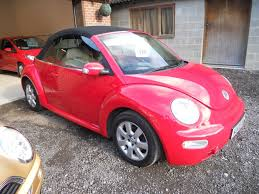 volkswagen new beetle pink used 2003 volkswagen beetle cabriolet 8v for sale in chichester