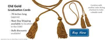 graduation cords cheap gold graduation honor cords honors graduation products