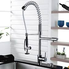 Industrial Looking Kitchen Faucets Sink Faucet Design Commercial Style Kitchen Faucet Long Reach