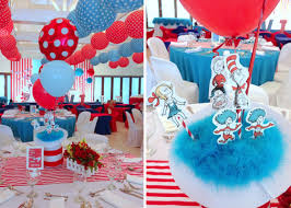 dr seuss party decorations cat in the hat balloon decor the wonderful stage backdrop indeed