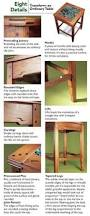 greene u0026 greene inspired hall table furniture plans woodworking