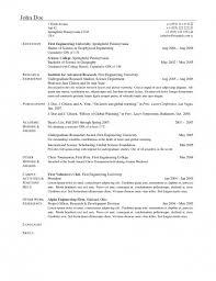 Clean Resume Template Amazing Best Latex Resume Template Resume Format Web
