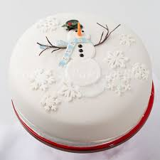 Christmas Cake Decorations Snowflakes by 9 Best Christmas Cake Decorating Images On Pinterest