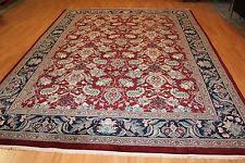 Handmade Wool Rug Handmade Wool Blend Traditional Persian Oriental Area Rugs Ebay