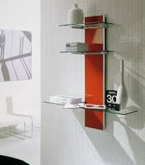 Modern Wall Mounted Shelves Voila Wall Mounted Tv Stand Decorative Shelving From Bontempi Casa