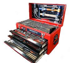 tool box red box rbi9900tm aircraft mechanic tool case 193 tools aero