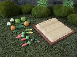 sylvanian families garden set vegetable garden set sylvanian haven