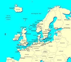 map of europe scandinavia map northern europe scandinavia major tourist