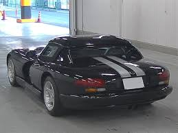 Dodge Viper 1996 - 1996 dodge viper in the japanese car auctions japanese car