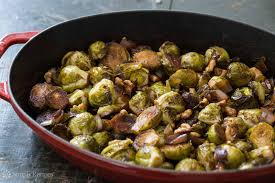 Balsamic Roast Beef In Oven Balsamic Roasted Brussels Sprouts And Shallots Recipe