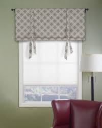 How To Make Roman Shades For French Doors - tie up window shade with dowel at bottom for bathroom window diy