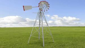 xtremepowerus 8ft green metal windmill yard garden wind mill youtube