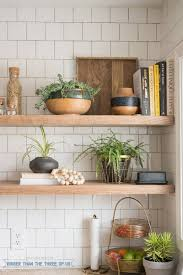 diy kitchen shelving ideas kitchen reveal with dark cabinets and open shelving bigger than