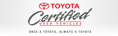 toyota certified pre owned cars toyota certified used