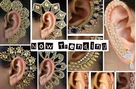ear cuffs india the jewellery trend of 2015 gorgeous ear cuffs