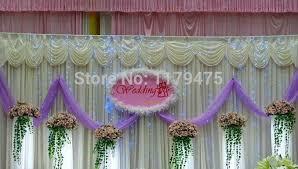 5 meters sheer snow yarn tulle table runner wedding car bridal