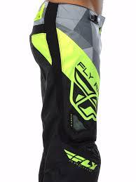 fly motocross boots fly racing black grey hi viz 2017 kinetic crux mx pant fly