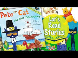 thanksgiving story books pete the cat the thanksgiving children s story read aloud