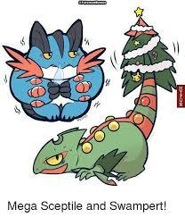 Mega Meme - co pokemon memes mega sceptile and swert meme on sizzle