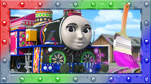 coloring ashima thomas and percy learning and coloring page