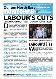 Westminster Council Tax Leaflet Literature Tameside Conservatives