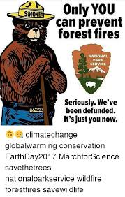 Only You Can Prevent Forest Fires Meme - smok only you can prevent forest fires national park service