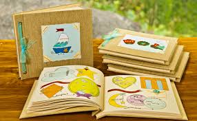 personalized keepsake books record books child