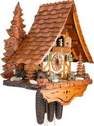 bear cuckoo clock adolf herr big bear family cuckoo clock 31