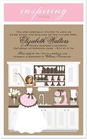 Gift Card Shower Invitation Kitchen Bridal Shower Invitations Marialonghi Com