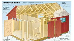 shed plans blueprints how to build a shed with the best