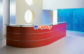 Glass Reception Desk Executive Modern Glass Reception Desk Online Classified Ads
