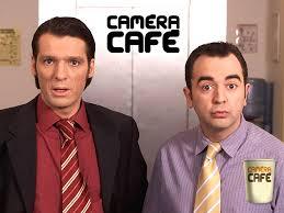 image pause café bureau éra café séries télé
