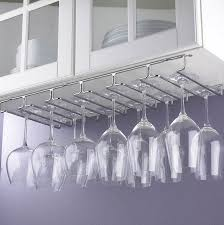 wine glass hanging rack under cabinet home design ideas