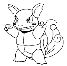 coloring pages pokemon wartortle drawings pokemon